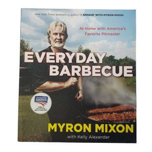 ☘️3/$30☘️Everyday Barbecue by Myron Mixon cookbook